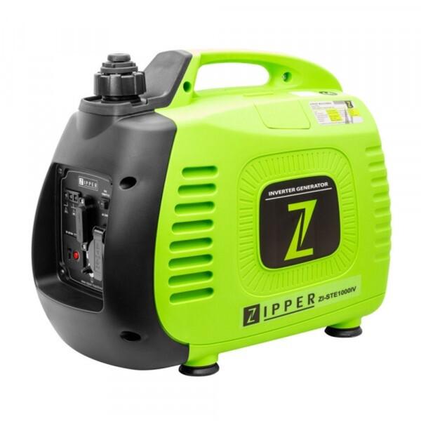 Zipper Stromerzeuger ZI-STE1000IV Inverter Technologie für sensible Geräte (Laptop, Computer, Handy, etc.)
