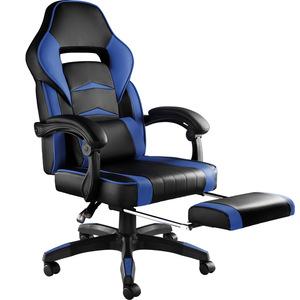 Bürostuhl Storm schwarz/blau