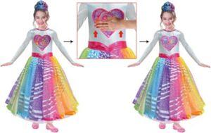 Kostüm Barbie Rainbow Magic Deluxe, 1-tlg. Gr. 104/110