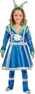 Kostüm Weltall Mond Mädchen, 3-tlg. Gr. 152/158