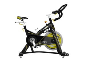 HORIZON FITNESS GR 6 Indoor Cycle Indoor Cycle, Schwarz/Gelb