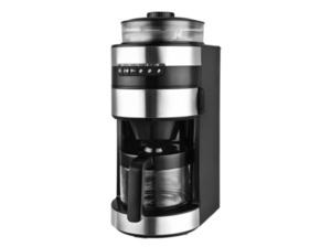 TEAM-KALORIK TKG CCG 1006 Kaffeemaschine Schwarz/Edelstahl