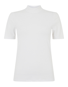 Damen Shirt mit Rippenstruktur
