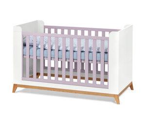 Baby- und Kleinkindbett, rosafarben