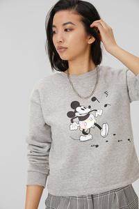 C&A Sweatshirt-Micky Maus, Grau, Größe: XL