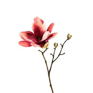 Zweig Magnolie, L:25,5cm, pink