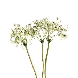 Blumenbündel Schleierkraut, L:28cm, weiß