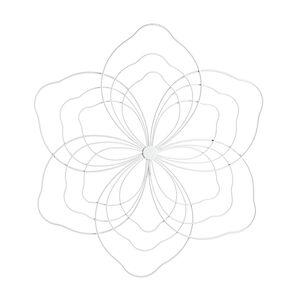 Hängeobjekt Blume, L:50cm, weiß