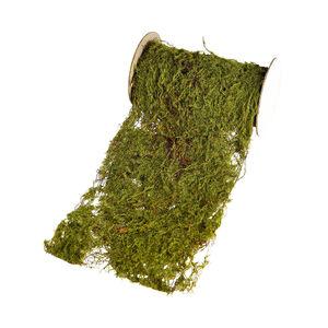 Tischband Moos, L:80cm, grün