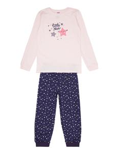 Mädchen Pyjama mit Sternen-Prints