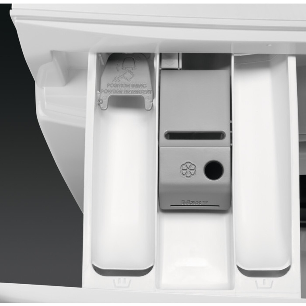 Bild 4 von AEG Waschmaschine L6FB647FH (A+++, 7 kg Fasungsvermögen, 1400 U/min, Schontrommel, Aquastop, Display, Inverter)
