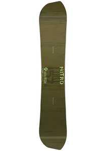 NITRO Quiver Fury 157cm - Snowboard für Herren - Grün