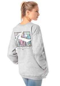 Rusty TV Screen 7 Crew - Sweatshirt für Damen - Grau