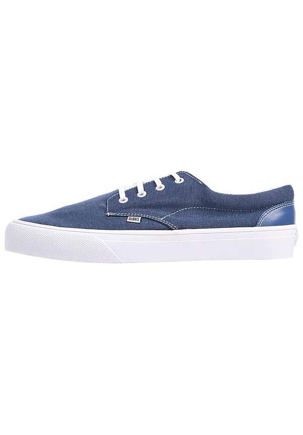 Djinns Nice Stripe Jersey Sneaker - Blau