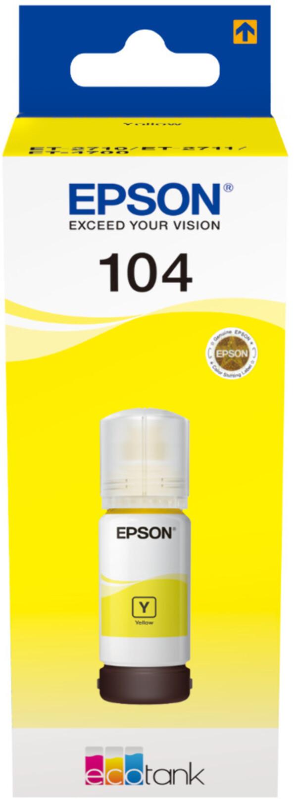 Epson C13T00P440 gelb