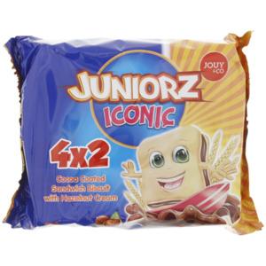 Juniorz Iconic-Kekse mit Haselnusscreme