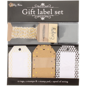 Geschenklabel-Set