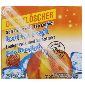 Durstlöscher Eistee Pfirsich