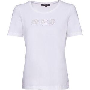 Adagio Shirt, 1/2-Arm, uni, Strass, für Damen