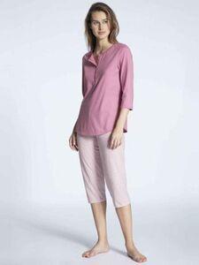"Calida Pyjama ""Cosy Jersey Fun"", 3/4, für Damen"