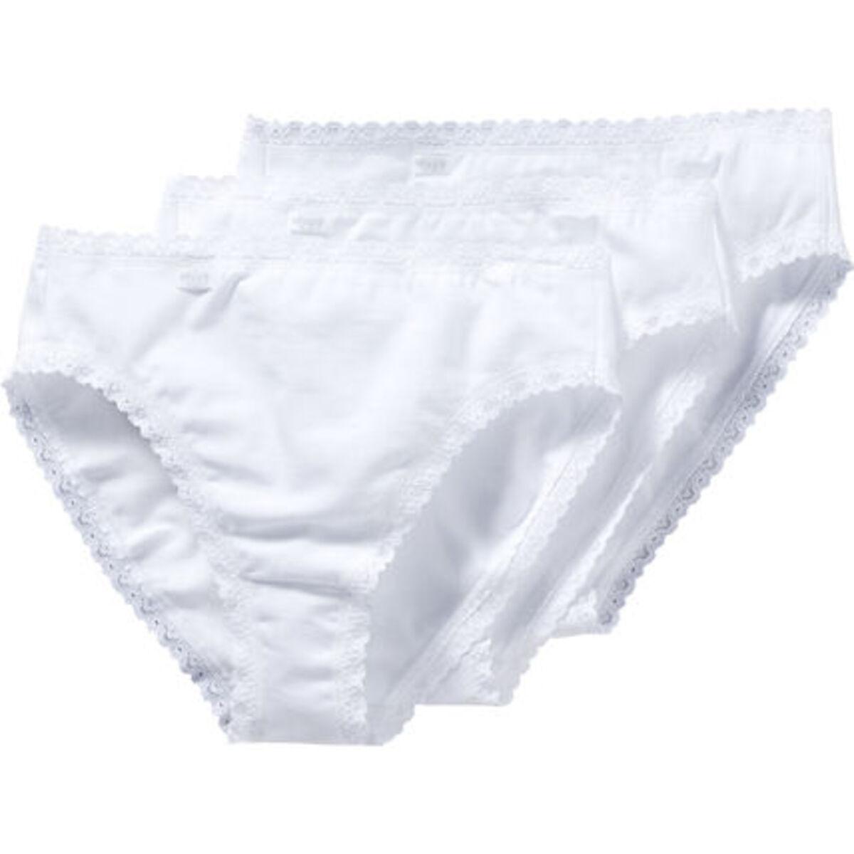 Bild 1 von Sloggi Tai-Slip, 3er-Pack, Baumwolle, für Damen