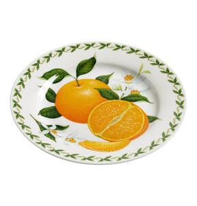 "Maxwell Williams Teller ""Orchard Fruits"", Orange, 20 cm"