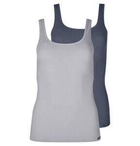 "Skiny Tank Top ""Advantage Cotton"", 2er-Pack, uni, für Damen"