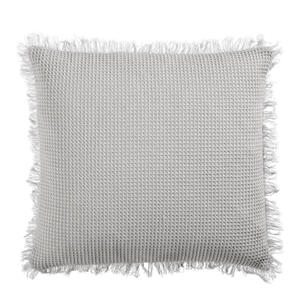 KISSENHÜLLE Silberfarben 45/45 cm