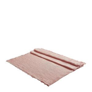 TISCHDECKE Textil Rosa 130/170 cm
