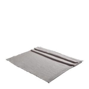 TISCHDECKE Textil Silberfarben 130/170 cm