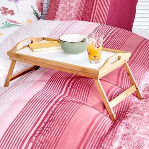 Betttablett mit klappbaren Füßen, ca. 50x30x6cm