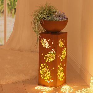 EASYmaxx LED-Dekosäule in verschiedenen Designs, ca. 25x59cm