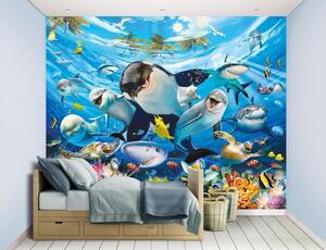 Walltastic Fototapete 12-teilig Sea Adventure