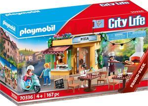 PLAYMOBIL 70336 Pizzeria mit Gartenrestaurant