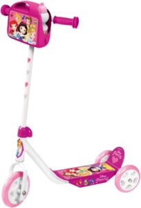 Disney Princess Tretroller mit Lunchbox und Flasche pink
