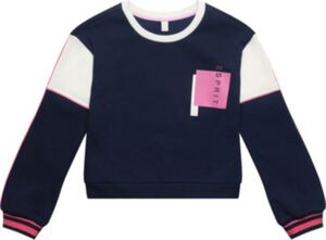 Sweatshirt  dunkelblau Gr. 128/134 Mädchen Kinder