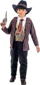 Kostüm Cowboy Luke, 3-tlg. Gr. 152/158