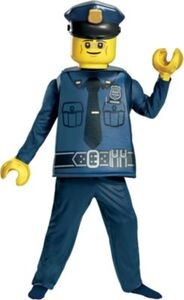 Kostüm LEGO Polizist Deluxe, 5-tlg. Gr. 104/122