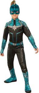 Captain Marvel Kree Suit Gr. M Gr. 110/122