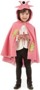 Kostüm Umhang Monster pink Gr. 116/128