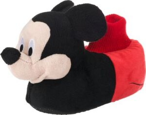 Disney Mickey Mouse & friends Hausschuhe , gefüttert schwarz Gr. 28 Jungen Kleinkinder