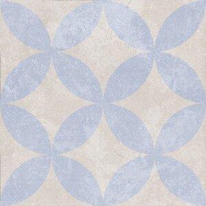 Feinsteinzeug Scandic Dekor 3 glasiert matt 18,6 cm x 18,6 cm