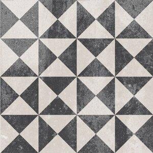 Feinsteinzeug Scandic Dekor 8 glasiert matt 18,6 cm x 18,6 cm