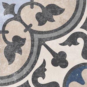 Feinsteinzeug Scandic Dekor 13 glasiert matt 18,6 cm x 18,6 cm