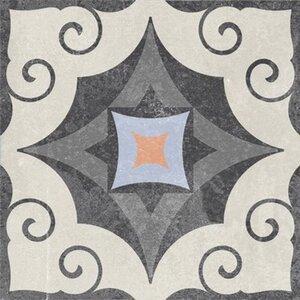 Feinsteinzeug Scandic Dekor 14 glasiert matt 18,6 cm x 18,6 cm