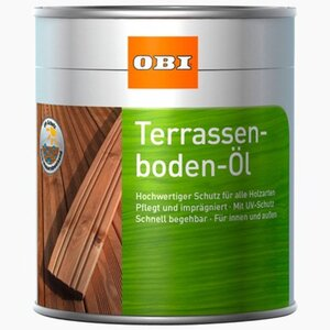 OBI Terrassenboden-Öl Bangkirai 2,5 l