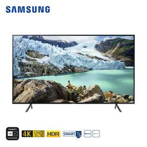 """UE75RU7179 • 3 x HDMI, 2 x USB, CI+ • geeignet für Kabel-, Sat- und DVB-T2-Empfang • Maße: H 96,6 x B 168,5 x T 6,1 cm • Energie-Effizienz A+ (Spektrum A+++ bis D), Bildschirmdiagonale: 75"""""""