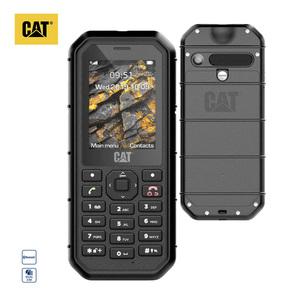 Robustes Outdoorhandy Cat® B26  · Quadband GSM · Kamera (2 MP) · microSD™-Slot bis zu 32-GB · Schutz vor Wasser, Stößen und Staubablagerungen (IP68-Zertifizierung)