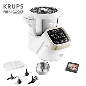 Küchenmaschine Prep & Cook · multifunktionale Küchenmaschine mit Kochfunktion · unzählige Möglichkeiten der Zubereitung von Vorspeise bis Dessert · 12 Geschwindigkeiten + Intervall- und Turbo-