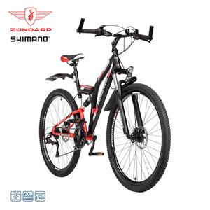 Mountainbike Blue 5.0 - Shimano Drehgriffschalter - Scheibenbremsen - Rahmenhöhe:  43 cm (24er) 47 cm (26er) 48 cm (28er)